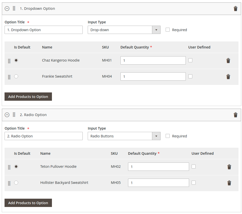 Setup Configurable Bundle in the Magento backend